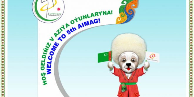 Ashgabat 2017 5th Asian Indoor and Martial Arts Games (AIMAG) Video
