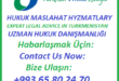 Turkmen Private Lawyer